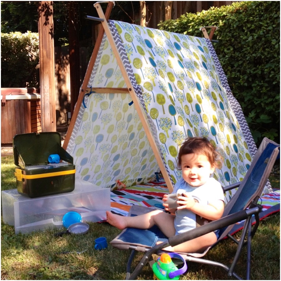 Diy Toddler Play Tent Skip To The Details